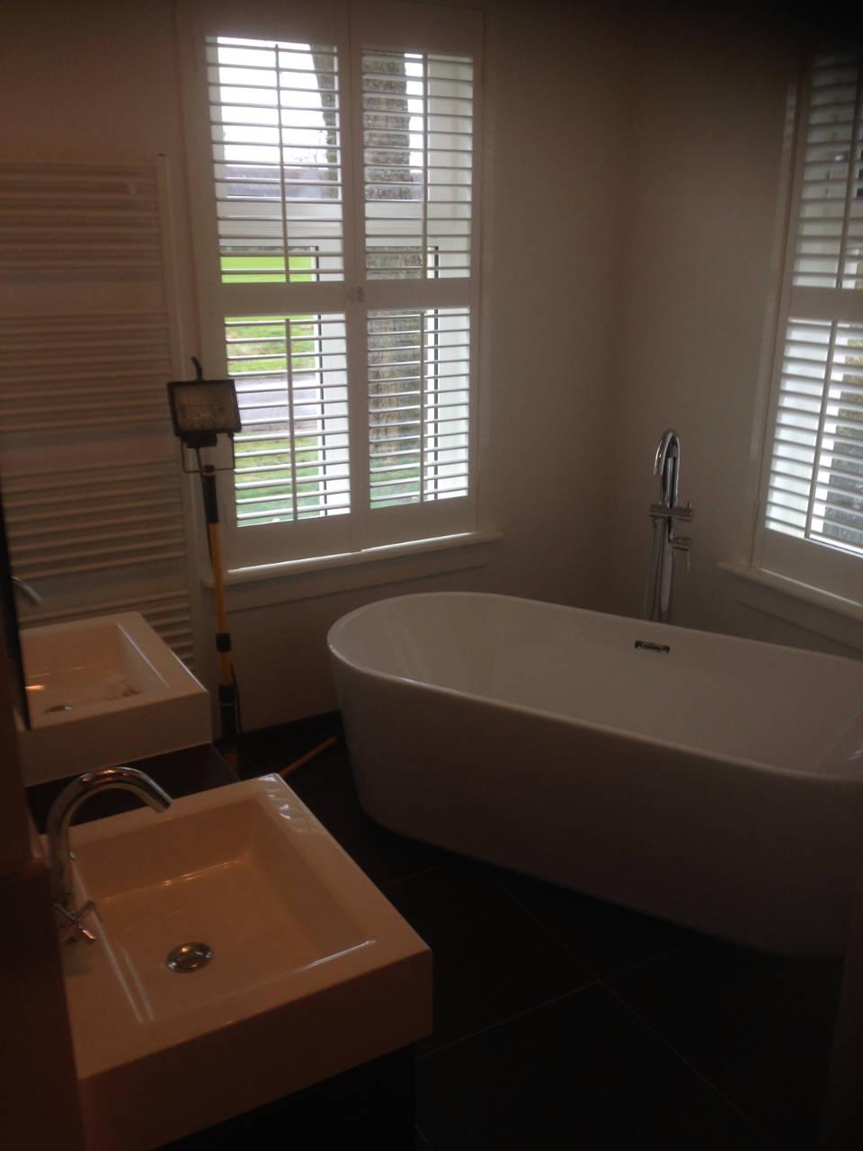 Verbouwing slaapkamer en badkamer